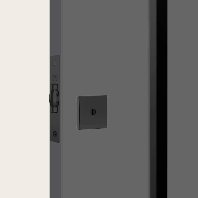 Fechadura 1005 tetra quadrada black auxiliar STAM