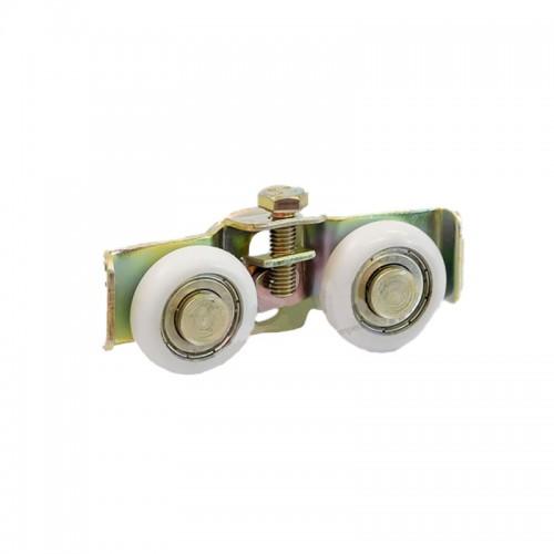 1125BD Roldana dupla BK02 c/ regulagem 8mm e 10mm