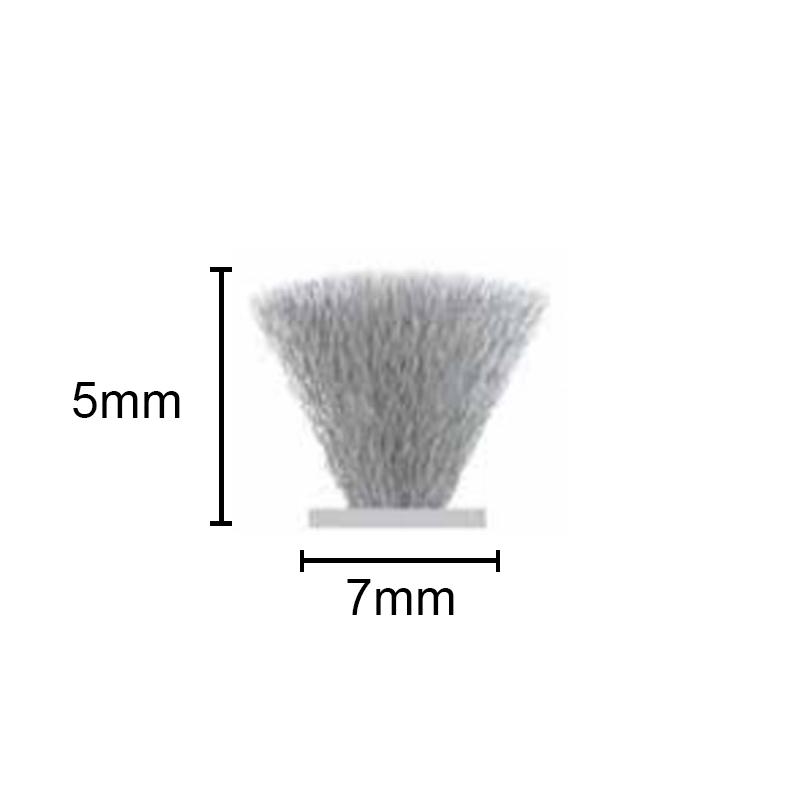 Fit-207 Escova de Vedação Normal 7x5 50mt