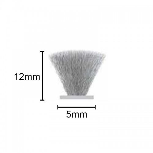Fit-215 - Escova de Vedação Normal 5x12 50mt
